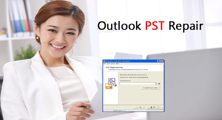 How To Repair PST File At No Cost?