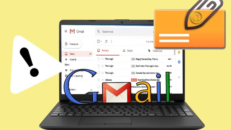 Try Out These 10 Solutions to Get Rid of Gmail Attachment Error!